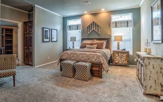 airy modern master suite in palm harbor 39 s hacienda iii