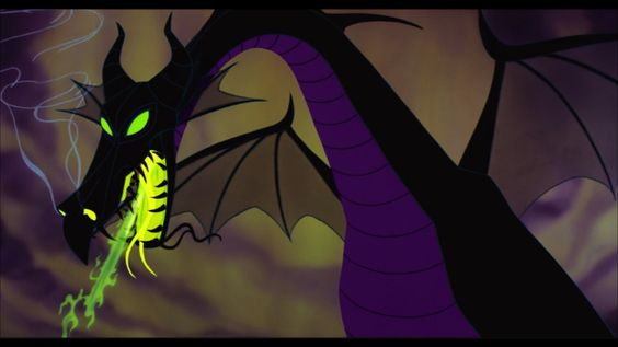 This dragon was one of the best animations Disney did back in the 1950s.