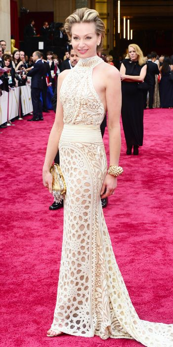 Oscars 2014 Red Carpet Arrivals - Portia de Rossi from #InStyle