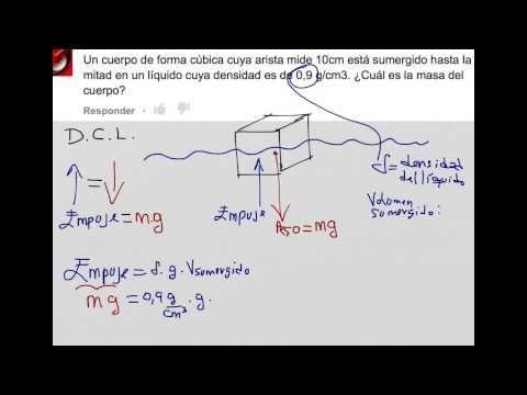 Principio De Pascal Ejercicio Fisica Prepa Youtube Como Calcular El Fisica Cuerpo