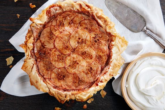 Layered Apple Pie With Phyllo Crust | Recipe | Apple Pies, Crusts and ...