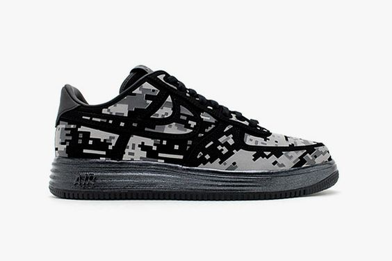 7f0926ec2af0 New from Nike Sportswear as the brand wraps up its anniversary tribute to  the Air Force 1 is the Lunar Force 1 Digi NRG. Featuring a Black Reflective  ...