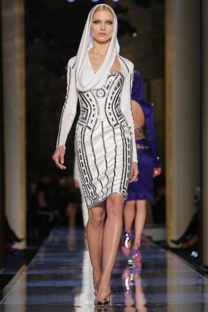 Versace Atelier Haute Couture Spring Summer 2014 Paris - NOWFASHION