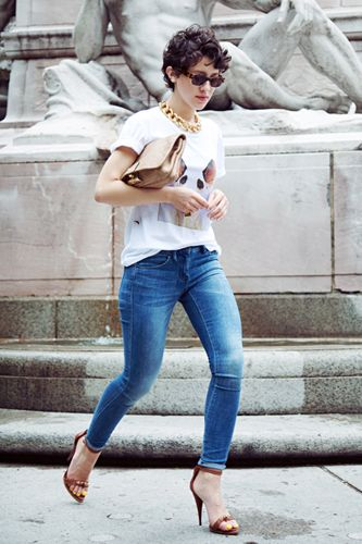 5 easy t-shirt ensembles we're dying to try
