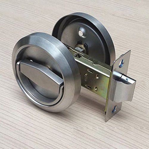 Stainless Steel 304 Corridor Locks Doorknobs Cabinet Furn Door Locks Types Of Doors Door Lock System