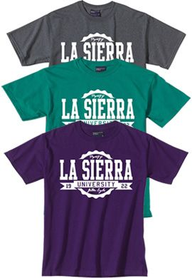 La Sierra University Rolled T-Shirt