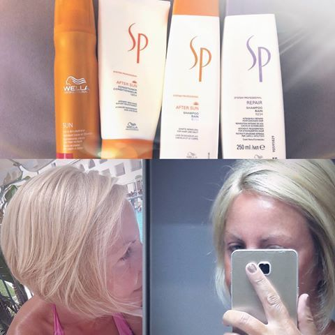Take care of your summer hair! ? #spsun #wellalife❤️ #wellahair #KontrastHairdressers #systemprofessional