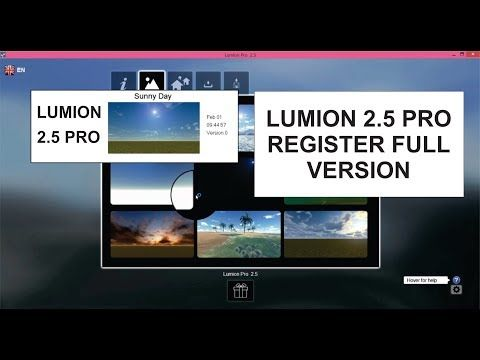 Lumion 2 5 32bit and 64bit insatall and how to register in