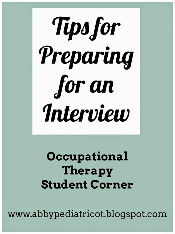 Occupational Therapy Assistant (OTA) do your research