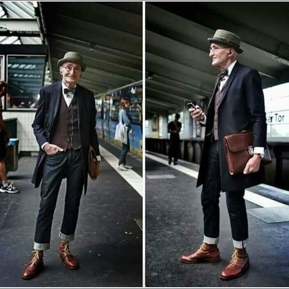 102 years old and he's still got swag