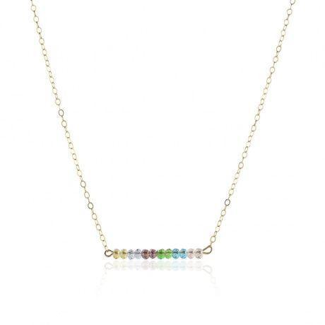 Kette 'Perlenspiel Lovely Colors' gold filled