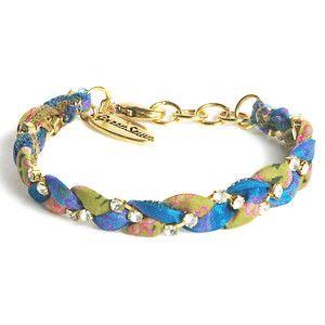 Vintage Sari Bracelet Spring Mix now featured on Fab.