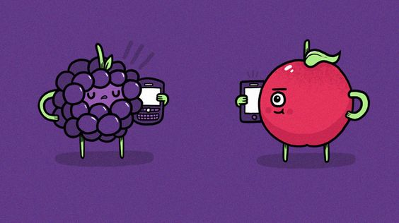Blackberry talking to Apple.