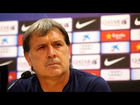 FOOTBALL -  FC BARCELONA - Rueda de prensa de Martino, íntegra - http://lefootball.fr/fc-barcelona-rueda-de-prensa-de-martino-integra/