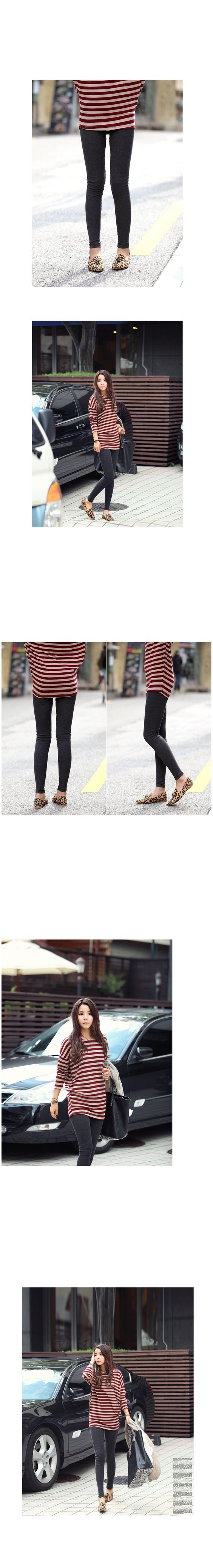 YESSTYLE: REDOPIN- Elastic-Waist Leggings - Free International Shipping on orders over $150
