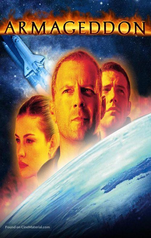 Armageddon 1998 German Dvd Movie Cover Con Imagenes