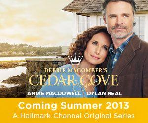 Hallmark channel cedar cove 2 hour series premiere july 20 2013