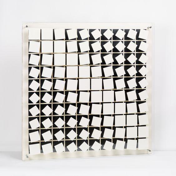 Helga Philipp, Kinetisches Objekt, 1966–1968 - Belvedere - Ausstellungen