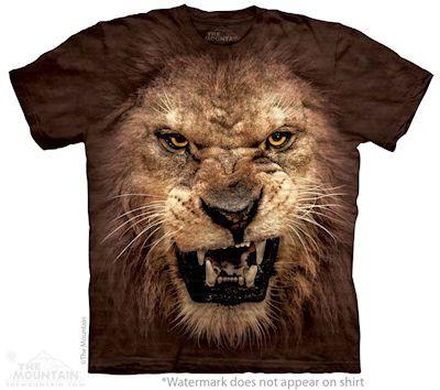 """Big Face Roaring Lion"""