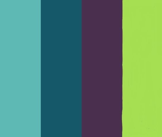 our peacock color palette :] Love these colors!! Want this color palette