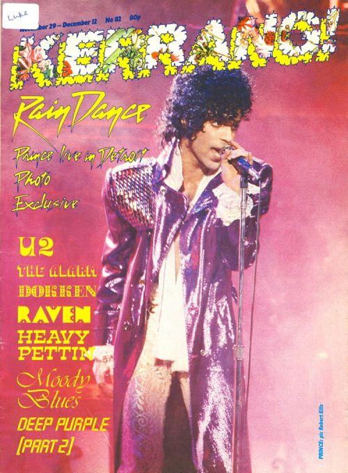 RT @KerrangMagazine: Prince 1958 - 2016: The rock world mourns....
