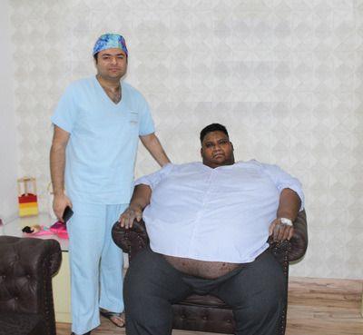 410 kg Man Undergoes Bariatric Surgery at Mohak Bariatrics & Robotics