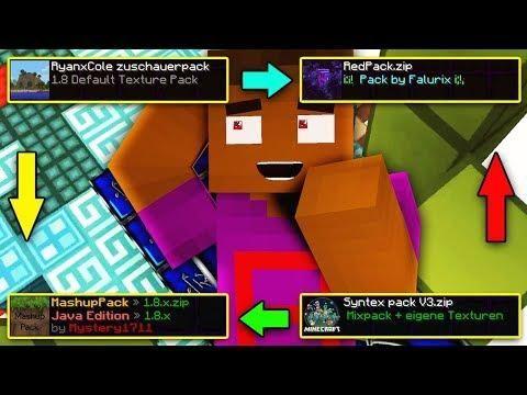 Random Zuschauer Texture Pack Challenge Minecraft Bedwars Texture Packs Challenges Texture