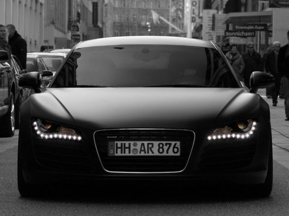 matte black audi r8 cars pinterest audi audi r8 et noir mat. Black Bedroom Furniture Sets. Home Design Ideas