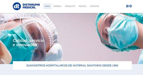 Hace poco hemos puesto en marcha la campaña de posicionamiento web SEO para Distrauma, una empresa de Palau Solità i Plegamans que ofrece suministros hospitalarios de material médico para centros de salud españoles.