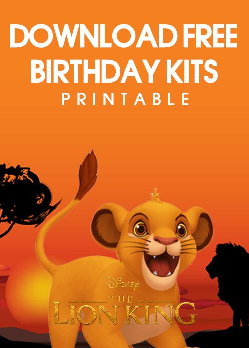 8 Free Printable Lion King Invitation Templates Lion King Birthday Lion King Invitation Lion King Theme