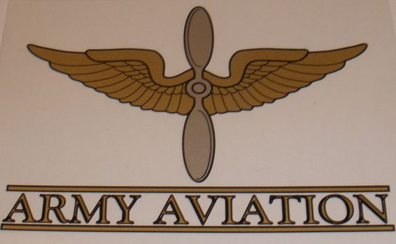Army Aviation... The only way to fly...
