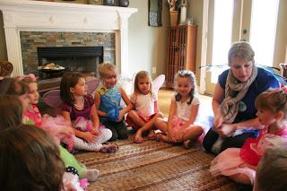 Tinker Bell Fairy Birthday Party Games