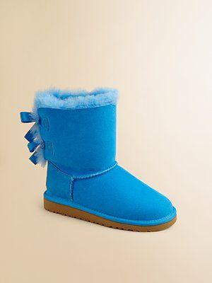 UGG Australia - Infant's, Toddler's & Girl's Bailey Bow Boots - Saks.com