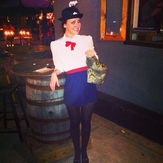 My Mary Poppins costume!