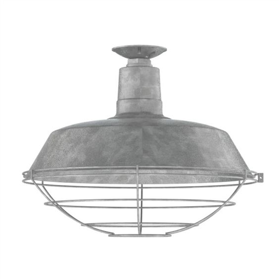 The Original Warehouse Flush Mount Pendant