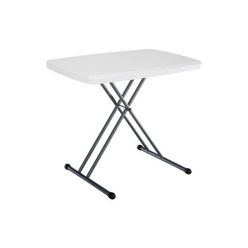 Lifetime 28241 Adjustable Folding Laptop Table Tv Tray 30 Inch White For Product Price Info Go To Https Folding Table Folding Laptop Table Laptop Table 42 inch square folding table
