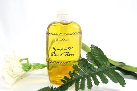 Hydrophilic oil Pau d'Arco by greencharm on Etsy