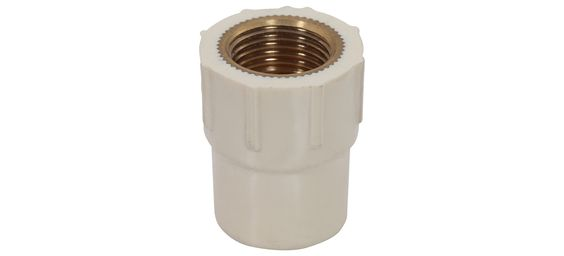 "Ashok Plastic manufactuire and supplier best CPVC Brass FTA. Size (Inch) : ¾"" to 1"""