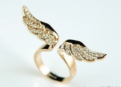 Wow, such an amazing ring with wings...