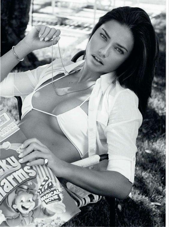 Adriana Lima Esquire UK