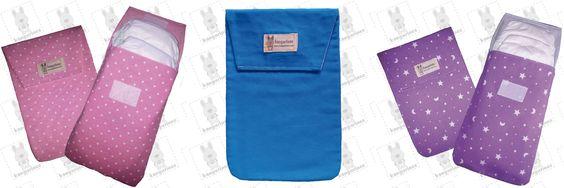 Conoce nuestras prácticas bolsas porta pañales. Nueva entrada en el blog.