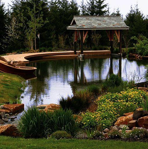 Farm Pond Ponds Backyard Landscaping, Farm Pond Design Pictures