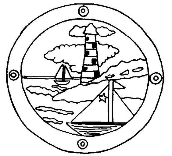 Imprimer Coloriage Dessins Plusieurs Phares De La Mer. 11