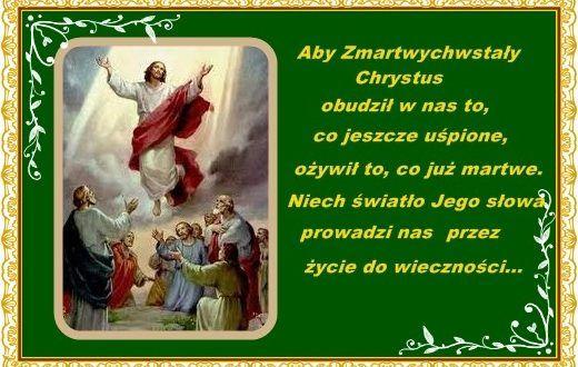 Życzenia na Zmartwychwstanie Pańskie Chrystus prawdziwie ...
