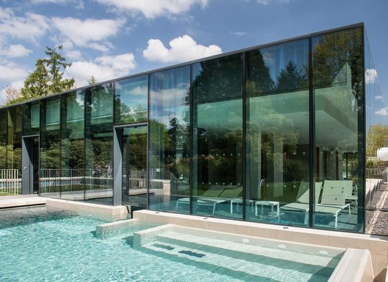 Indoor Outdoor Hydrotherapy Infinity Edge Pool At Rudding Park Spa Offers Views Of The Gardens As You Experience The Hydrotherapy Ma Spa Breaks Harrogate Hotel