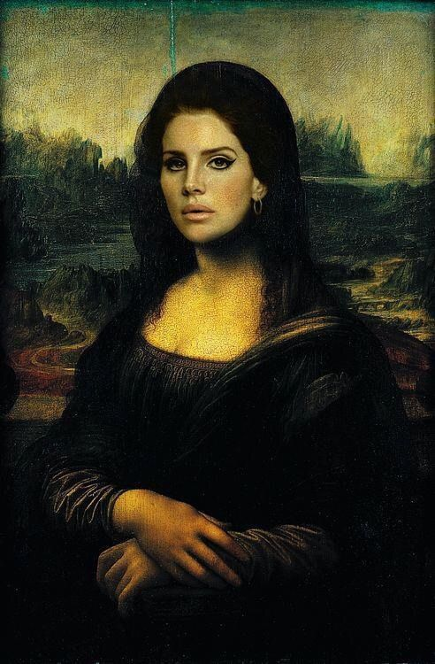 Lana del Rey // Mona Lisa