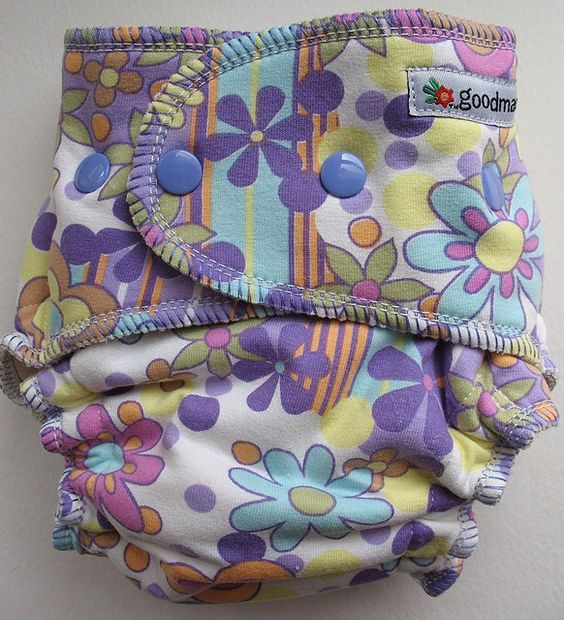 Goodmama One-Size Fitted Diaper