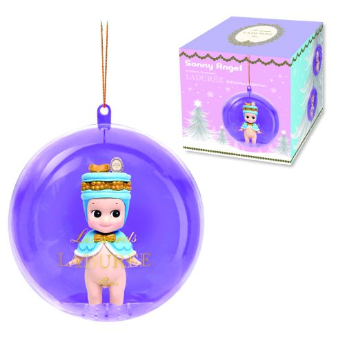 Sonny Angel Laduree Ornament : Blind Box - Its Christmas season again and here comes a new batch of Xmas Sonny Angel ornaments for your pleasure. This item is blind box assortment. Each blind box consists of one random figure from the series.