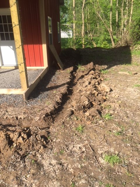 French Drain Project French Drain Installation Drain