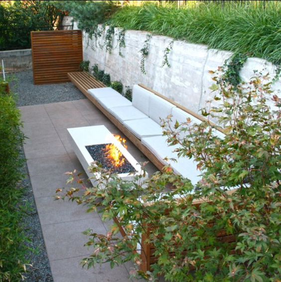 Retaining Walls Teak And Built In Bench On Pinterest